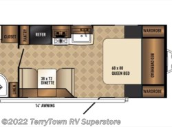 New 2017  Palomino Solaire Ultra Lite 202RB by Palomino from TerryTown RV Superstore in Grand Rapids, MI