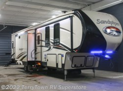 New 2017  Forest River Sandpiper 383RBLOK by Forest River from TerryTown RV Superstore in Grand Rapids, MI