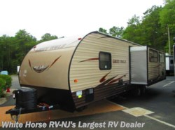New 2016  Forest River Cherokee Grey Wolf 26RL Rear Living Room Slide-out by Forest River from White Horse RV Center in Egg Harbor City, NJ