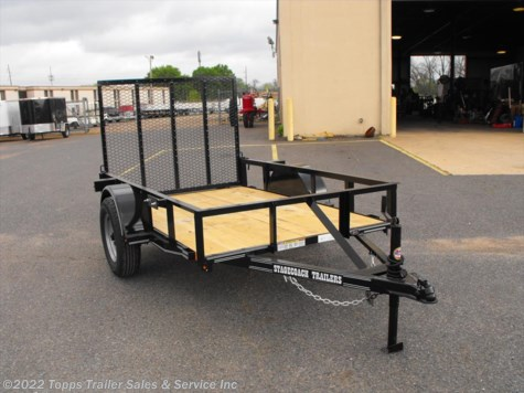 2019 Stagecoach 5X8 ANGLE TOP 4' RAMP GATE