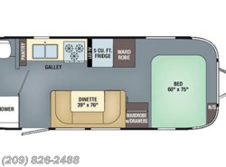 New 2017  Airstream International Signature 23FB by Airstream from www.RVToscano.com in Los Banos, CA