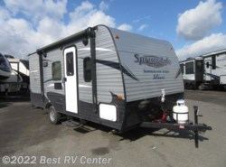 New 2017  Keystone Springdale Summerland 1800BH BUNK MODEL/ FRONT QUEEN BED by Keystone from Best RV Center in Turlock, CA
