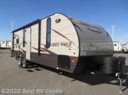 New 2016  Forest River Cherokee Grey Wolf 24RK  Rear Kitchen / FLIP DOWN TRAVEL RACK by Forest River from Best RV Center in Turlock, CA