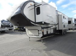 New 2016  Forest River  BROOKSTONE 378RE FIVE SLIDE OUTS/REAR LIVING/ 6 PO by Forest River from Best RV Center in Turlock, CA