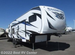 New 2017  Forest River Sandstorm 335GSLR RAMP DOOR PLAYPEN / 200W SOLAR/ 2 SLIDEOUT by Forest River from Best RV Center in Turlock, CA