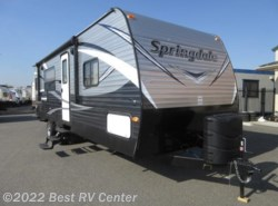 New 2017  Keystone Springdale 242RKW Rear Kitchen/ Front Walk Around Bed by Keystone from Best RV Center in Turlock, CA