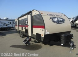 New 2018 Forest River Cherokee Grey Wolf 27RR Toy Hauler/ Ramp Door Patio System/ Slide Out available in Turlock, California