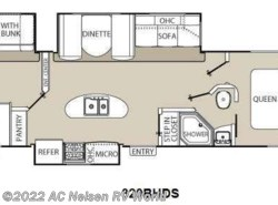 New 2017  Coachmen Freedom Express 320BHDS by Coachmen from AC Nelsen RV World in Shakopee, MN