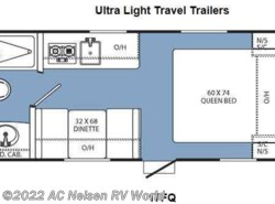 Used 2014  Coachmen Clipper Ultra-Lite 17FQ by Coachmen from AC Nelsen RV World in Shakopee, MN