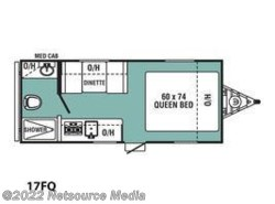 New 2017  Coachmen Viking Ultra-Lite 17FQ by Coachmen from U-Neek RV Center in Kelso, WA