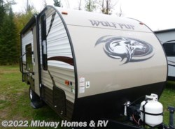 Used 2016  Forest River Cherokee Wolf Pup 16FQ by Forest River from Midway Homes & RV in Grand Rapids, MN