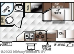 New 2018  Forest River Rockwood Roo 19 by Forest River from Midway Homes & RV in Grand Rapids, MN