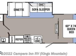 New 2016  Palomino Puma XLE 25RBSC by Palomino from Campers Inn RV in Kings Mountain, NC