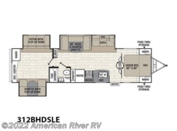 New 2017  Coachmen Freedom Express Liberty/Maple Leaf Edition 312BHDSLE by Coachmen from American River RV in Davis, CA