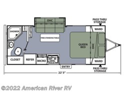 New 2017  Coachmen Apex 22QBS by Coachmen from American River RV in Davis, CA