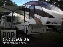 Used 2014  Keystone Cougar 36