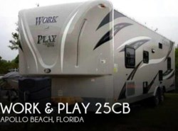 Used 2016  Forest River  Work & Play 25CB by Forest River from POP RVs in Sarasota, FL
