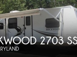 Used 2012  Forest River Rockwood 2703 SS