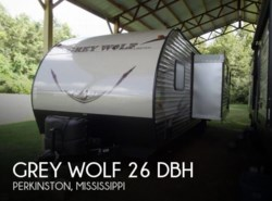Used 2017  Forest River Grey Wolf 26 DBH by Forest River from POP RVs in Sarasota, FL