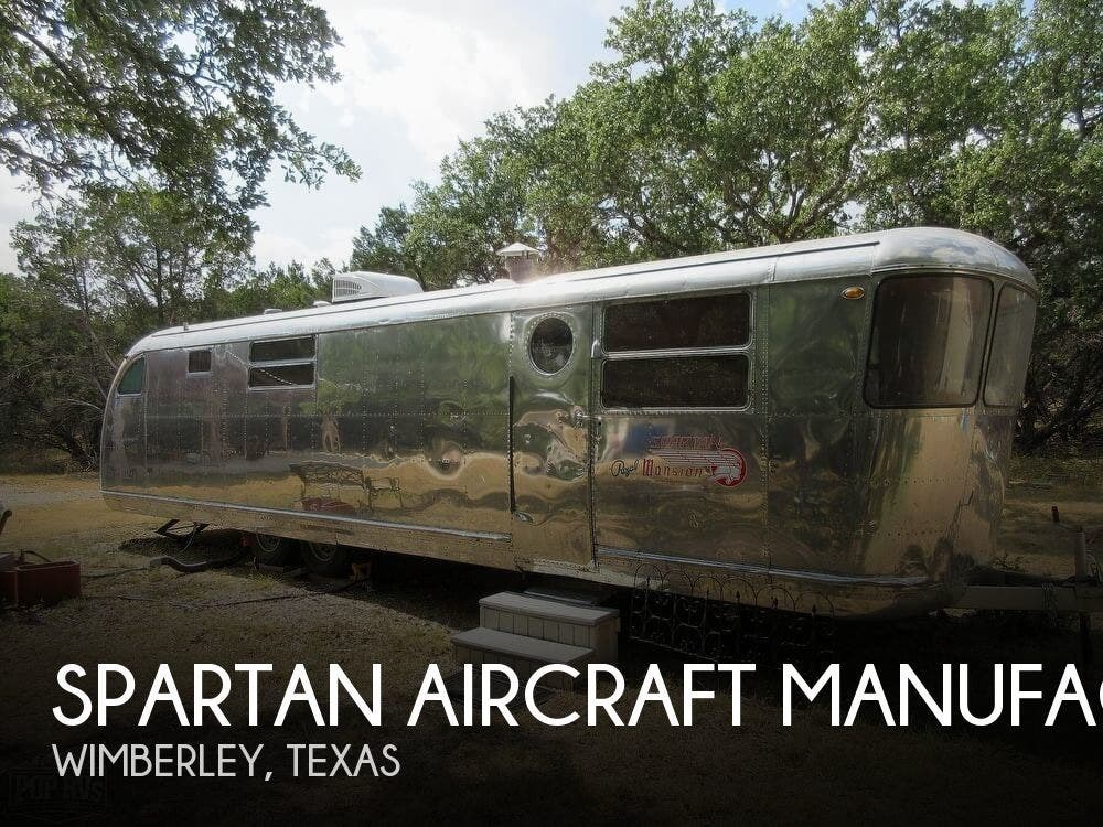 1950 Spartan RV AIRCRAFT MANUFACTURING ROYAL MANSION for Sale in Wimberley,  TX 78676   173179