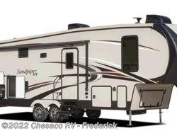 New 2017  Forest River Sandpiper 372LOK by Forest River from Chesaco RV in Frederick, MD