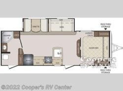 New 2017  Keystone Bullet 251RBS by Keystone from Cooper's RV Center in Apollo, PA