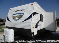 Used 2014  Palomino Canyon Cat 31ft/Slide/Bunks/Slight Hail Damage by Palomino from Luxury Motorhomes Of Texas in Krum, TX