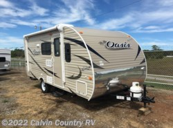 New 2017  Shasta Oasis 18BH by Shasta from Calvin Country RV in Depew, OK