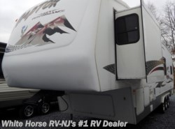 Used 2005  Keystone Raptor 3319SS Single Slideout, 10' Garage w/ Ramp by Keystone from White Horse RV Center in Williamstown, NJ
