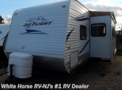 Used 2011  Jayco Jay Flight 29 QBH Quad Bunk, Sofa/U-Dinette Slide by Jayco from White Horse RV Center in Williamstown, NJ