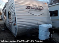 Used 2014  Jayco Jay Flight 26 BH Front Queen w/Corner Dbl. & Bunk Above by Jayco from White Horse RV Center in Williamstown, NJ