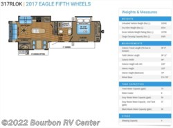 New 2017  Jayco Eagle 317RLOK by Jayco from Bourbon RV Center in Bourbon, MO