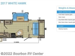 New 2017  Jayco White Hawk 23MRB by Jayco from Bourbon RV Center in Bourbon, MO