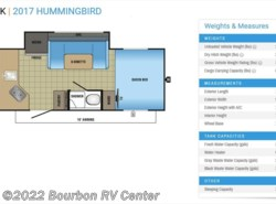 New 2017  Jayco Hummingbird 17RK by Jayco from Bourbon RV Center in Bourbon, MO