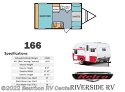 New 2017  Riverside RV Retro 166 by Riverside RV from Bourbon RV Center in Bourbon, MO