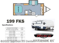 New 2017  Riverside RV Retro 199 FKS by Riverside RV from Bourbon RV Center in Bourbon, MO