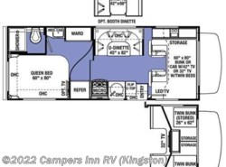 Used 2016  Forest River Sunseeker 2300 Ford by Forest River from Campers Inn RV in Kingston, NH