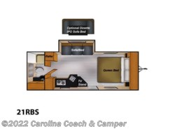 Used 2016  Livin' Lite CampLite 21RBS by Livin' Lite from Carolina Coach & Marine in Claremont, NC