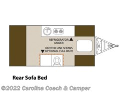 New 2017  Aliner Expedition Rear Sofa Bed by Aliner from Carolina Coach & Marine in Claremont, NC