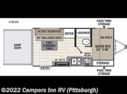 New 2017  Coachmen Freedom Express 17BLSE by Coachmen from Campers Inn RV in Ellwood City, PA