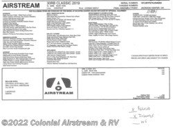 New 2019 Airstream Classic 30RB Twin available in Lakewood, New Jersey