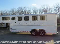 New 2016  Sundowner Sportman 4 H Slant Load GN w/ dr room by Sundowner from Crossroads Trailer Sales, Inc. in Newfield, NJ