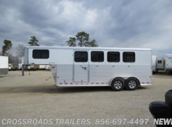 New 2017  Sundowner Super Sport 4H Slant Load GN w/ dr room by Sundowner from Crossroads Trailer Sales, Inc. in Newfield, NJ