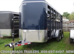New 2016  Delta 500 Series 16' Bumper Pull Stock Trailer 7' Tall by Delta from Crossroads Trailer Sales, Inc. in Newfield, NJ