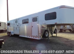 New 2017  Sundowner Transporter 4H HEAD TO HEAD W/TACK ROOM by Sundowner from Crossroads Trailer Sales, Inc. in Newfield, NJ