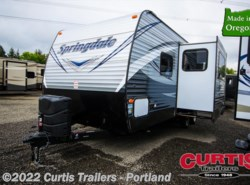 New 2017  Keystone Springdale West 240bhwe by Keystone from Curtis Trailers in Portland, OR