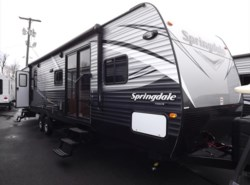 New 2017  Keystone Springdale 38FQ by Keystone from Diamond RV Centre, Inc. in West Hatfield, MA