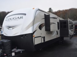 New 2018  Keystone Cougar 33MLS by Keystone from Diamond RV Centre, Inc. in West Hatfield, MA