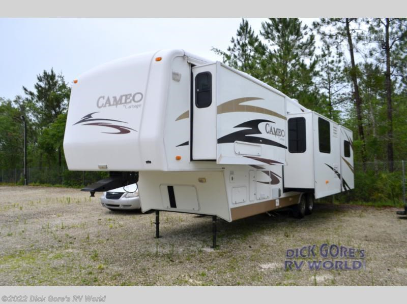 find complete specifications for carriage cameo fifth wheel rvs here rh rvusa com Camper Wiring Diagram 5th Wheel Camper Wiring Diagram