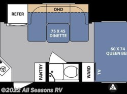 New 2017  Forest River R-Pod 179 by Forest River from All Seasons RV in Muskegon, MI